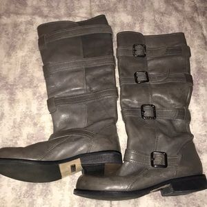 Kenneth Cole REACTION leather boots sz8